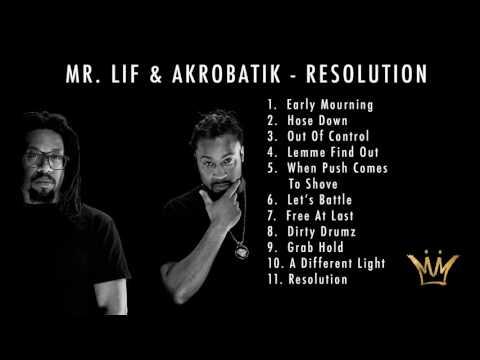 Mr. Lif & Akrobatik - Resolution (Full Album Stream) (Official Audio)