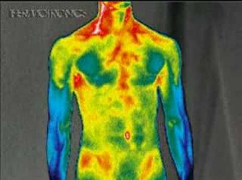 HUMAN BODY ON INFRARED