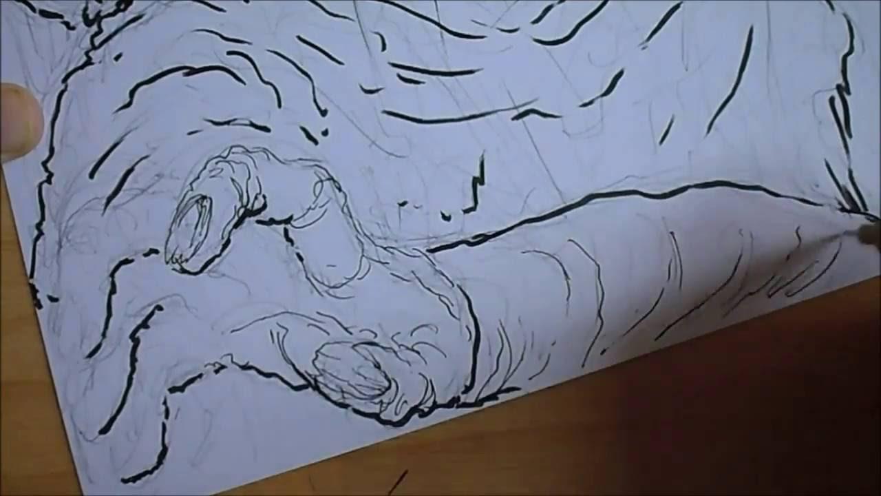 Drawing A Zombie Apocalypse Illustration Youtube