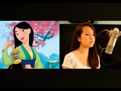 Reflection from Disney's Mulan - Christina Aguilera [COVER by Grace Lee]