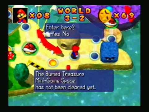 Mario Party - 1998 - Mini Game Island: World 3 |