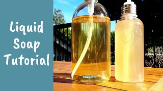 Liquid Soap Making Tut๐rial – Complete Process and Easy Beginner Recipe