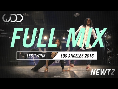 LES TWINS - World of Dance LA 2016 - FULL MIX + SCH - Gomorra (Les Twins Remix)