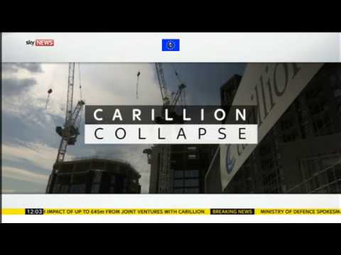James O'Brien vs Carillion liquidation