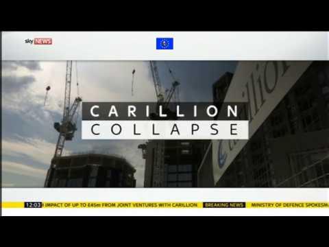 James O'Brien vs Carillion liquidation