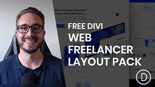 Get a FREE & Robust Web Freelancer Layout Pack for Divi