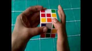 How to solve a rubik's cube 3x3 in Telugu by Suresh