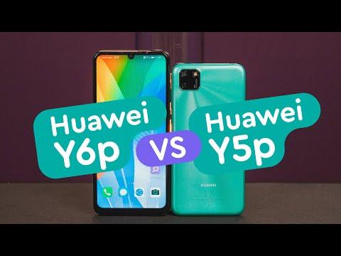 Huawei Y5p Vs Huawei Y6p - Три камеры и NFC!