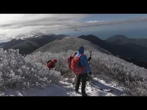 Con Francesco Bevilacqua su Monte La Calvia e Cozzo del Pellegrino con la prima neve