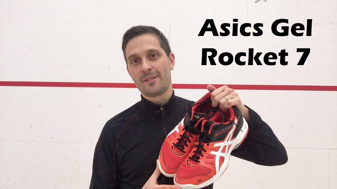 Macadán Groseramente Alboroto  Asics Gel Rocket 7 Review - YouTube