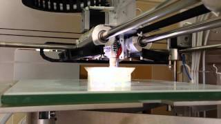 3D Printer CubeX Soccer build   HD 720p