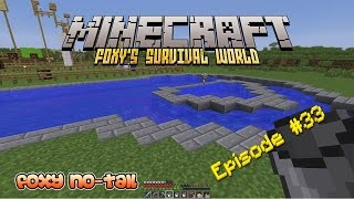 Minecraft Survival - How to build a Swimming Pool [33]