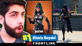 FORTNITE: I BOUGHT THE NEW LEGENDARY DESTINY SKIN AND KILLED GENERAL! Muop, the