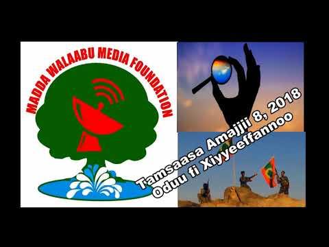 Oromo Voice Radio (OVR) Broadcasts- 8 January 2018