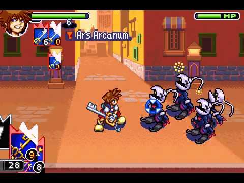 Kingdom Hearts: Chain of Memories (GBA / Game Boy Advance) - YouTube