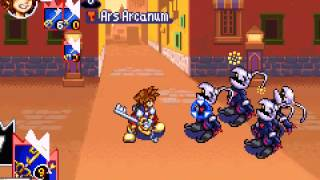 Kingdom Hearts - Chain of Memories - Kingdom Hearts: Chain of Memories (GBA) - User video