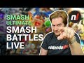 Smash Ultimate: Join Us for Smash Battles Live, and WIN!