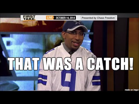 Best of Stephen A Smith: Cowboys Rants 2014-15 Season, Wearing Cowboys Jersey, Dez Bryant Catch Pt 4