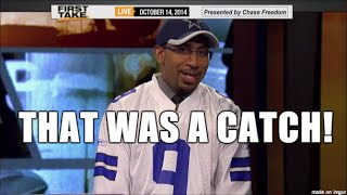 Best of Stephen A Smith: Cowboys Rants 2014-15 Season, Wearing Cowboys Jersey, Dez Bryant Catch Pt 4