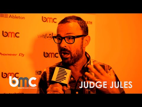 Judge Jules interview @ BMC 2015 (Brighton Music Conference)