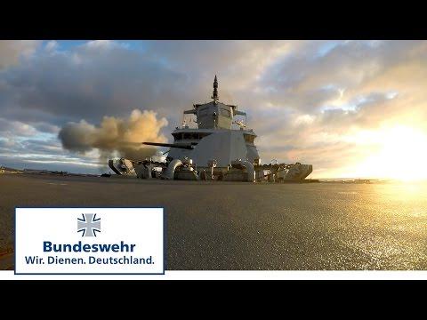 Die neue Fregatte der Bundeswehr: Feuer aus allen Rohren