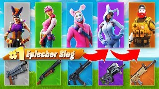 LEGENDÄRE LUCKY SKIN CHALLENGE in Fortnite