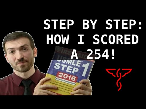 How I scored a 254 on USMLE Step 1