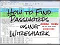 How to sniff password using Wireshark?