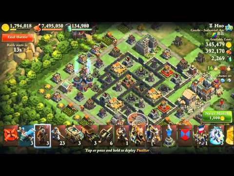 Dominations Industrial mixed army raiding vol 2