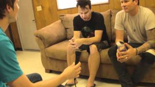 Blink-182 interview at Fall Frenzy 2011