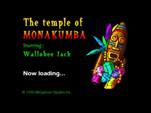 Wallobee Jack: The Temple Of Monakumba Load Screen.......
