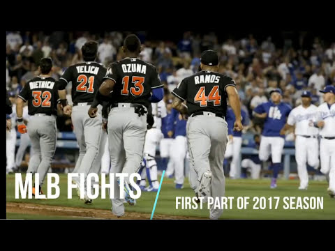 MLB BASEBALL FIGHTS OF 2017 ᴴᴰ {UPDATED 7/3}