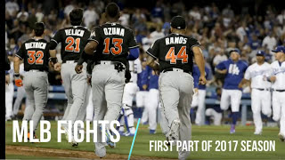 MLB BASEBALL FIGHTS OF 2017 ᴴᴰ {UPDATED 7/3}