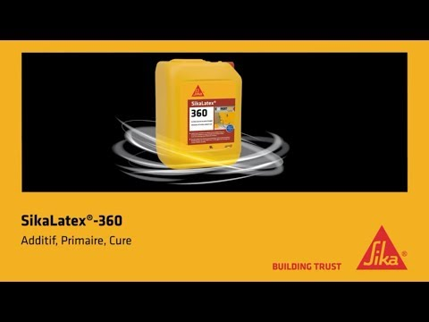 Resine D Accrochage Sikalatex 360 Additif Primaire Cure Youtube