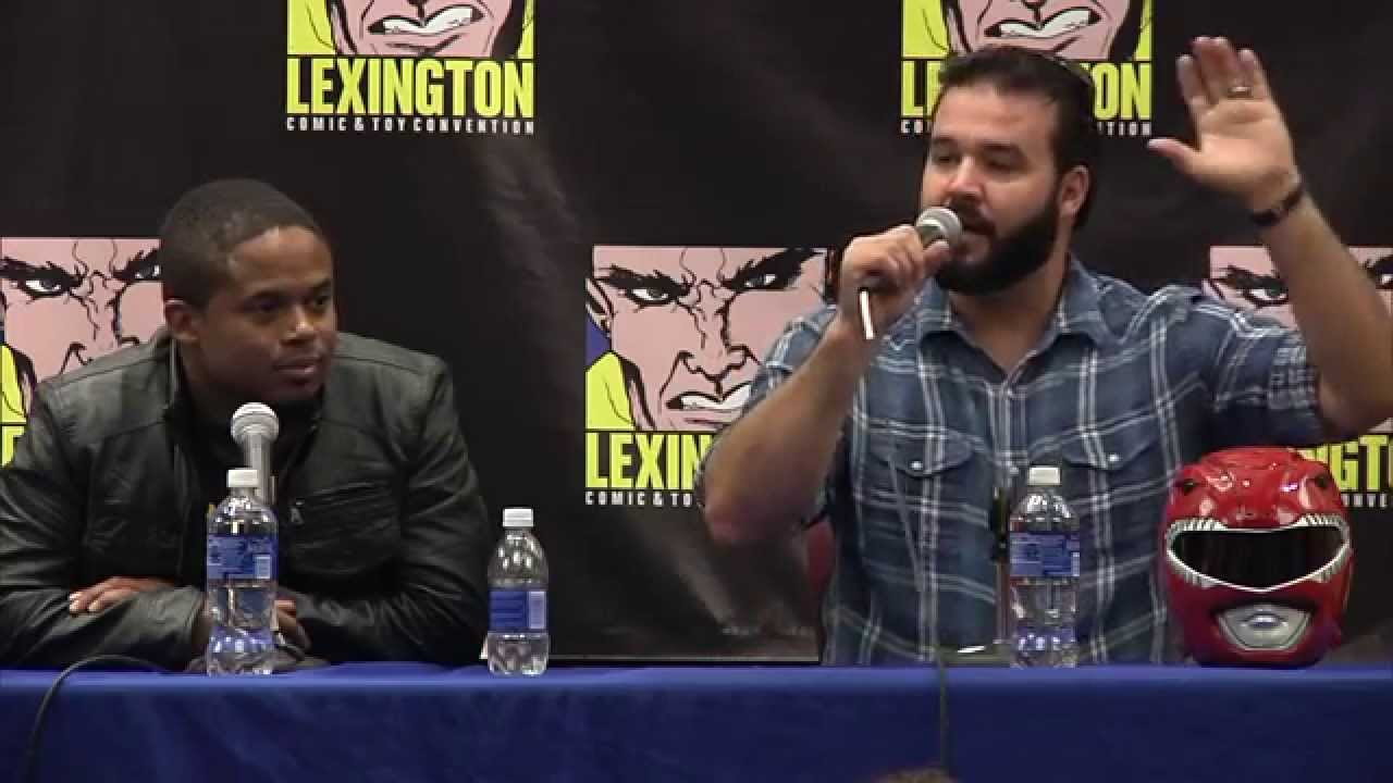 MMPR - Lexington Comic and Toy Convention - YouTube