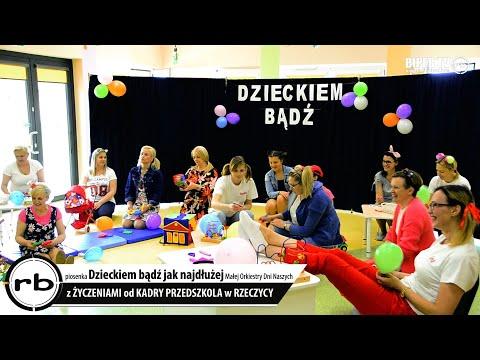 Dzieckiem bądź! Śpiewające życzenia z Przedszkola w Rzeczycy