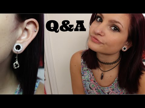 Earrings for Stretched Ears?? + HUGE Q&A | Modest Devil | Alyssa Nicole |