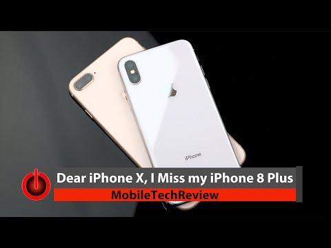Dear iPhone X, I Miss my iPhone 8 Plus
