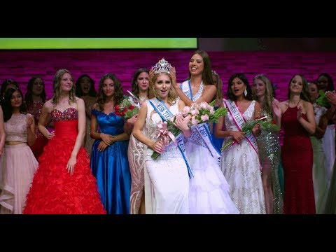 The Crowning of Miss Teenage Canada 2018 Kate Lawrence