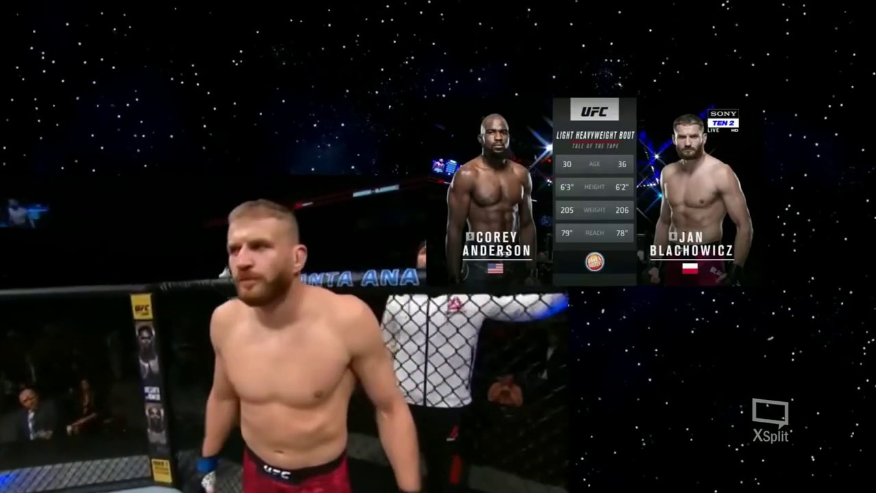 Corey Anderson vs Jan Błachowicz full fight
