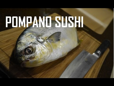 How To Fillet Fish For Sushi And Sashimi - Fresh Pompano