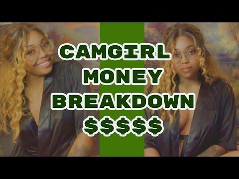 WEBCAM MODEL MONEY BREAKDOWN