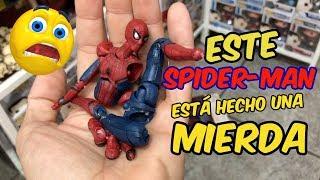 UNBOXING BOOTLEG: ¡Spider-man viene hecho m**rda!