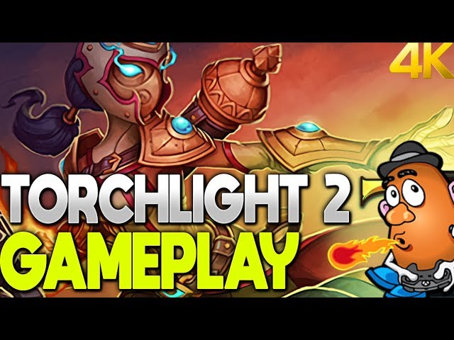 Torchligh 2 Gameplay | Torchlight 2 | Xbox One X 4K Gameplay
