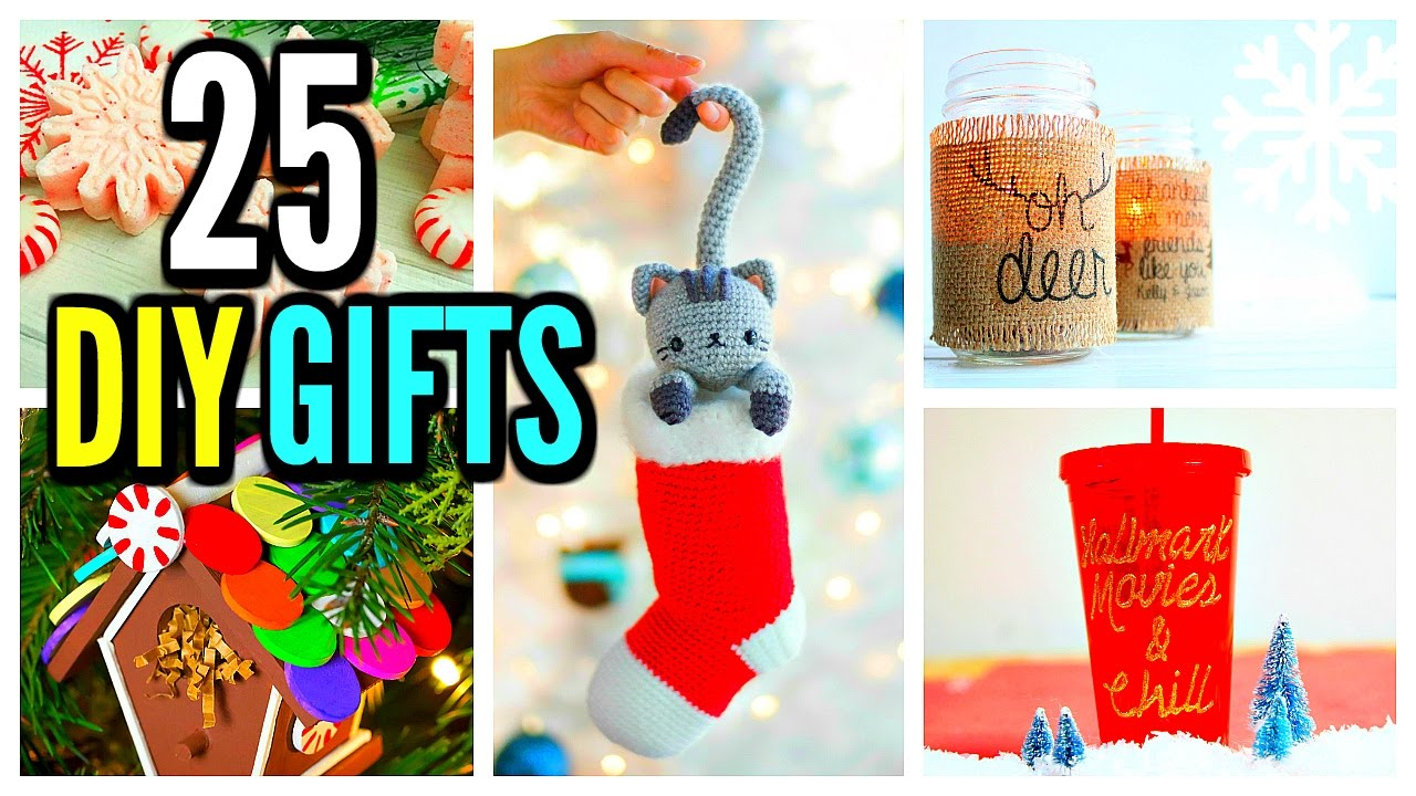 diy craft ideas for christmas gifts 25 diy gifts gift ideas amp crafts 2016 7662