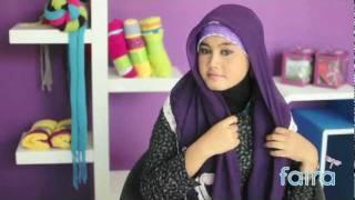 Hijab Tutorial Faira | Kreasi Jilbab Faira BA -- 127