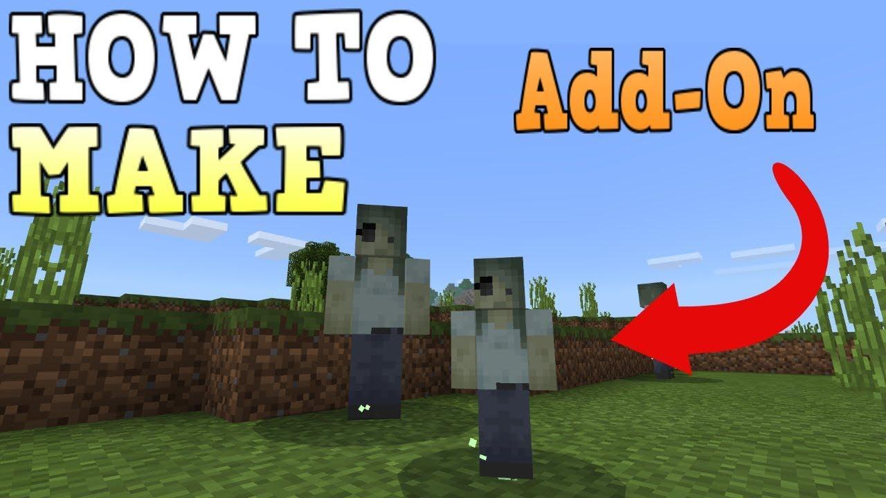 Minecraft Bedrock Edition Addon/Mod Tutorial YouTube