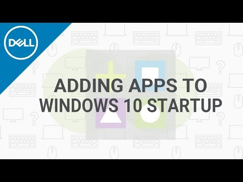 How To Add App To Startup Windows 10 (Official Dell Tech Support)