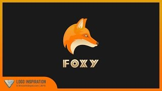 How to create Fox Logo | Illustrator Tutorial