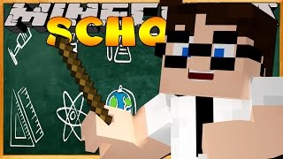 Minecraft School Server : LITTLE LIZARD PUSHED ME!! #3